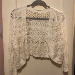 Cloud Chaser cardigan sweater Junior girls size XL